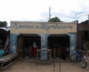 Hardware store - Malawi