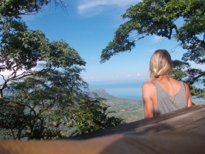 view from Mushroom Farm - Malawi