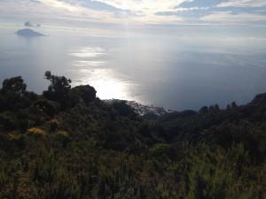 Santa Marina seeing from Monte Fossa delle Felci