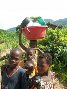 kids in Chitimba - Malawi