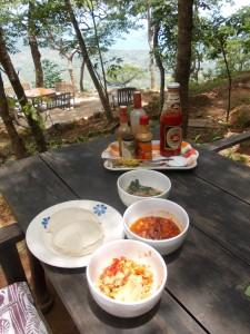 Nsima, local dish Malawi