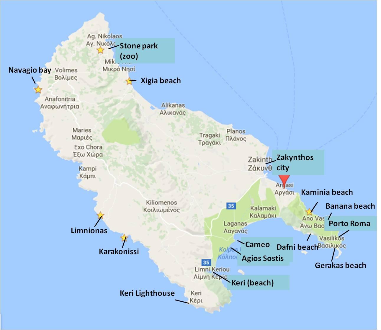 Zakynthos Beaches where to go Travels