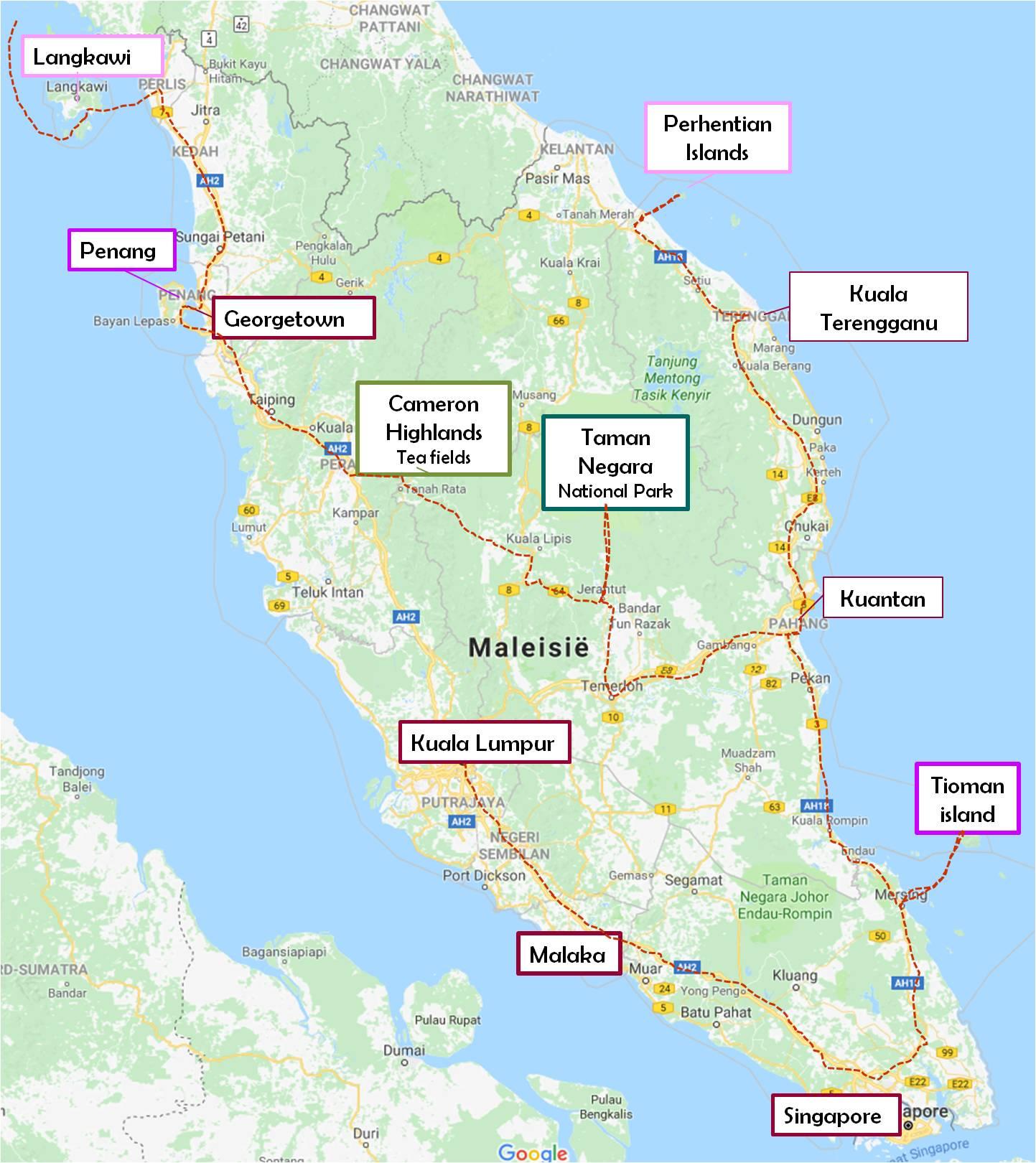 Peninsular Malaysia: Malaysia